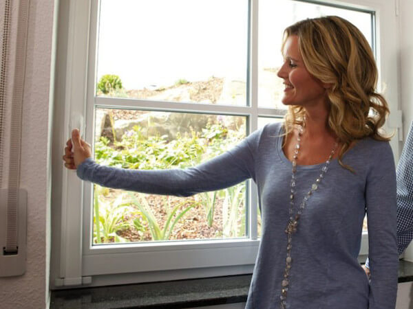 Fenstersicherung Fenstergriff